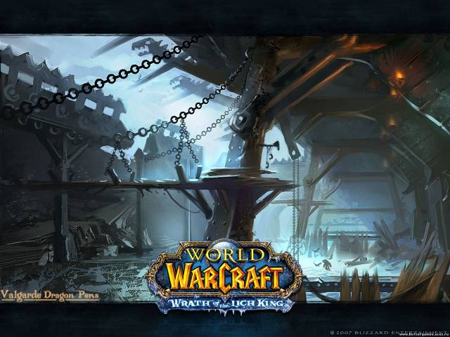 World Of Warcraft - WOW - Замок нежети.